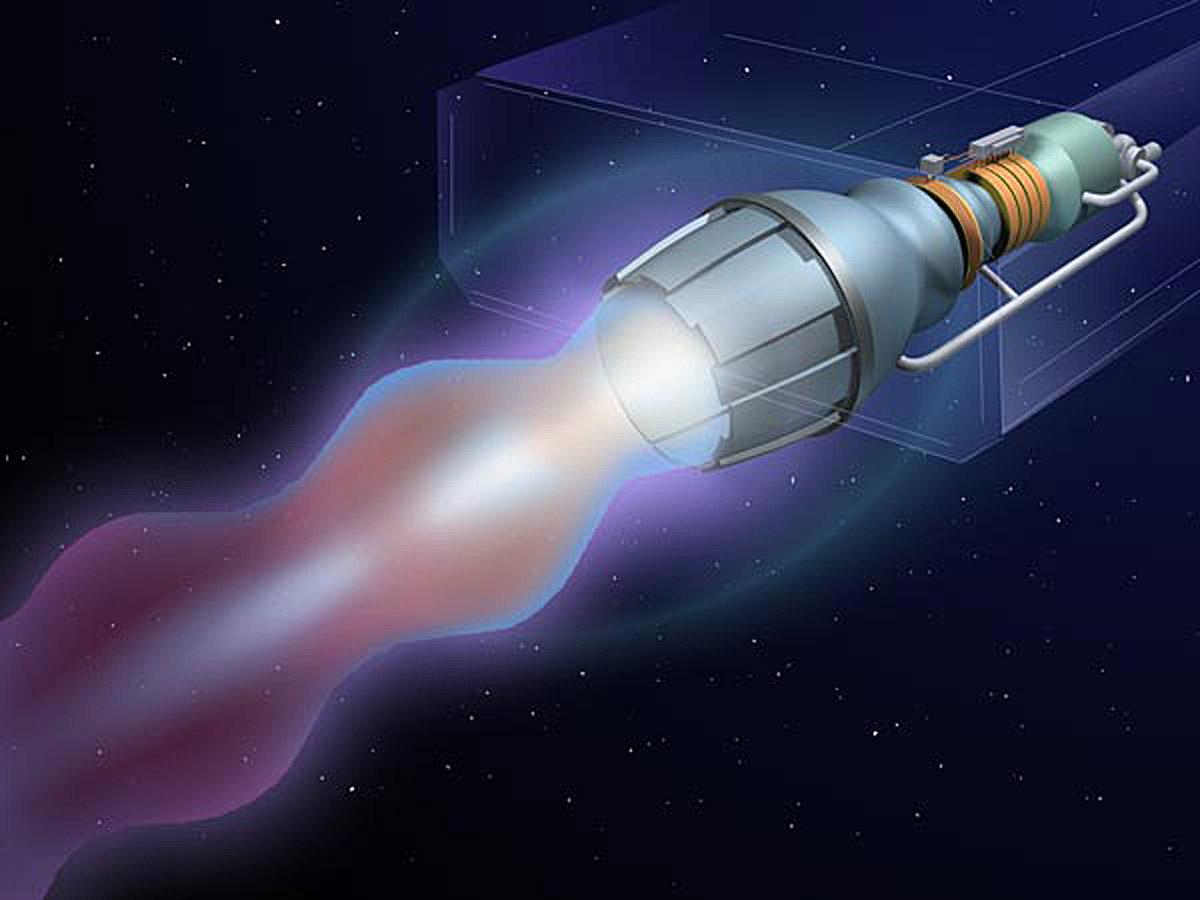 НАСА: проложить путь людям на Марс может лишь ракета с ядерным реактором - 3