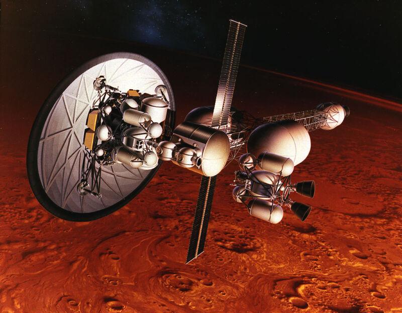 НАСА: проложить путь людям на Марс может лишь ракета с ядерным реактором - 1