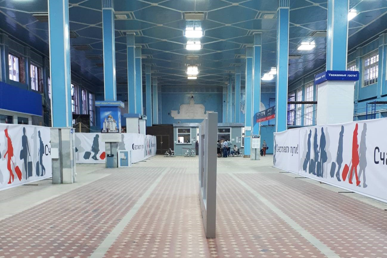 Первый советский вокзал, созданный в конструктивизме - 13