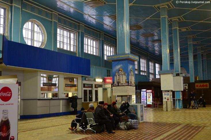 Первый советский вокзал, созданный в конструктивизме - 15