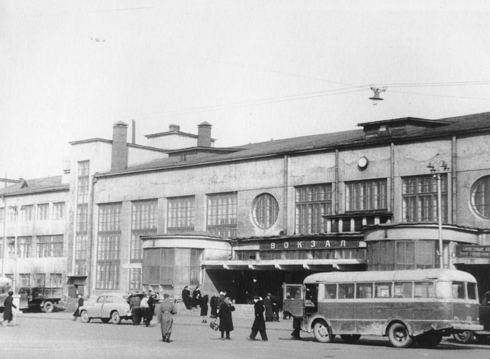 Первый советский вокзал, созданный в конструктивизме - 3