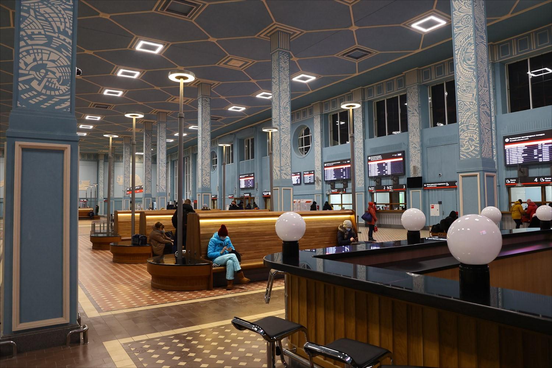Первый советский вокзал, созданный в конструктивизме - 36