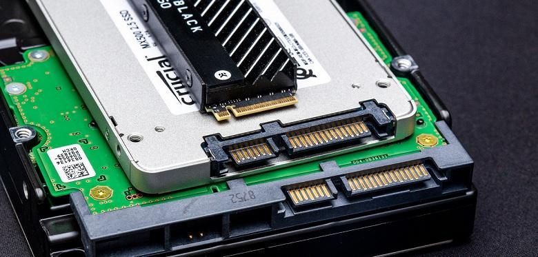 SSD наконец-то обошли HDD. В прошлом году было отгружено 333 млн твердотельных накопителей