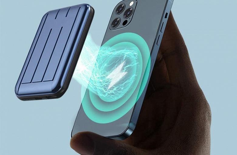 Apple готовит магнитный внешний аккумулятор, который будет заряжать iPhone посредством MagSafe