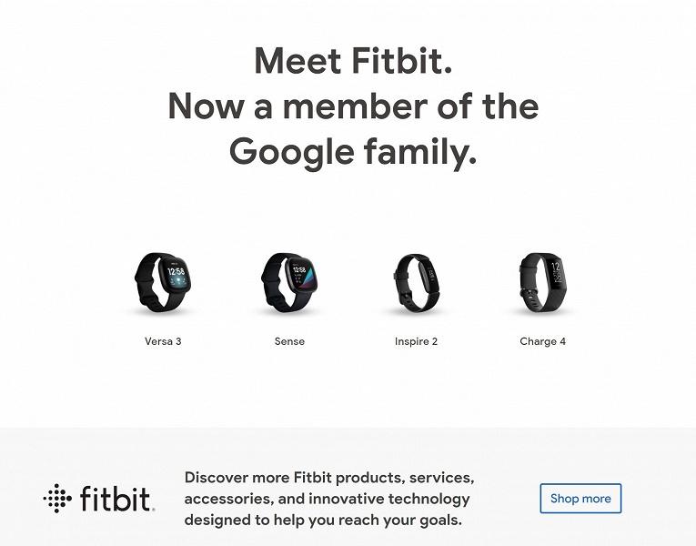 Google начала продавать умные часы и браслеты. Гаджеты Fitbit прописались в Google Store
