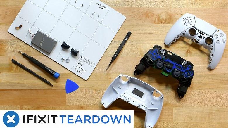 iFixit: быстрая поломка DualSense для Sony PlayStation 5 заложена производителем компонентов