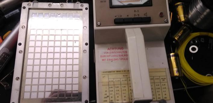 Возвращение к жизни радиометра FAG FHT 111 Contamat - 1