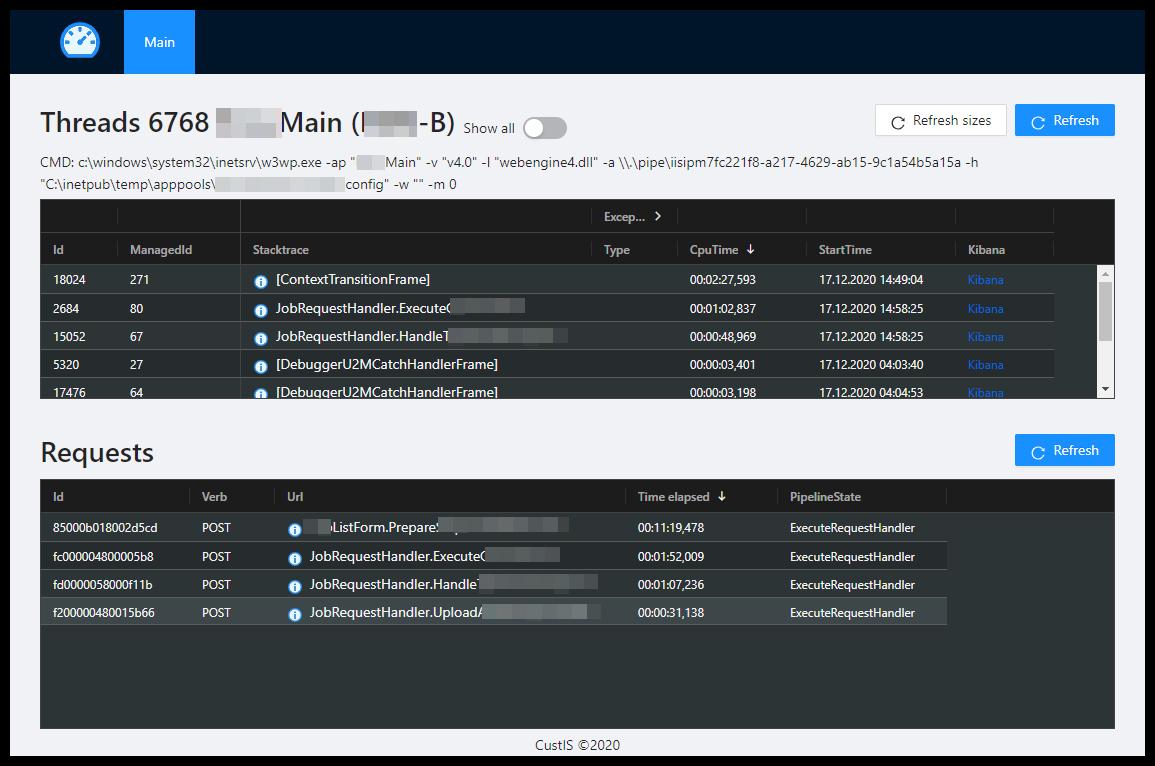 ProcInsp — веб-диспетчер задач для Windows - 3