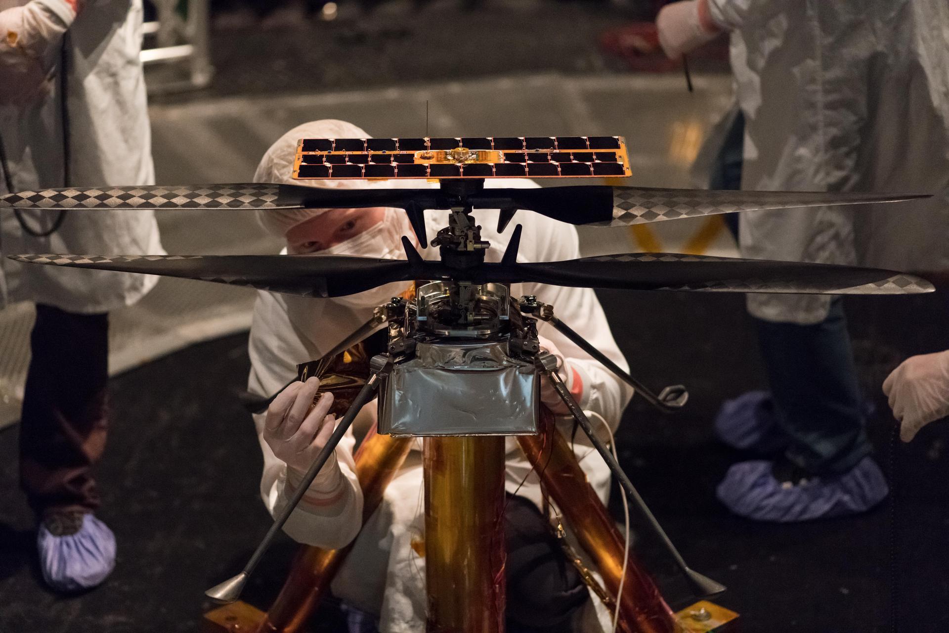 НАСА: в марсолете Ingenuity используется открытое ПО и Linux - 1