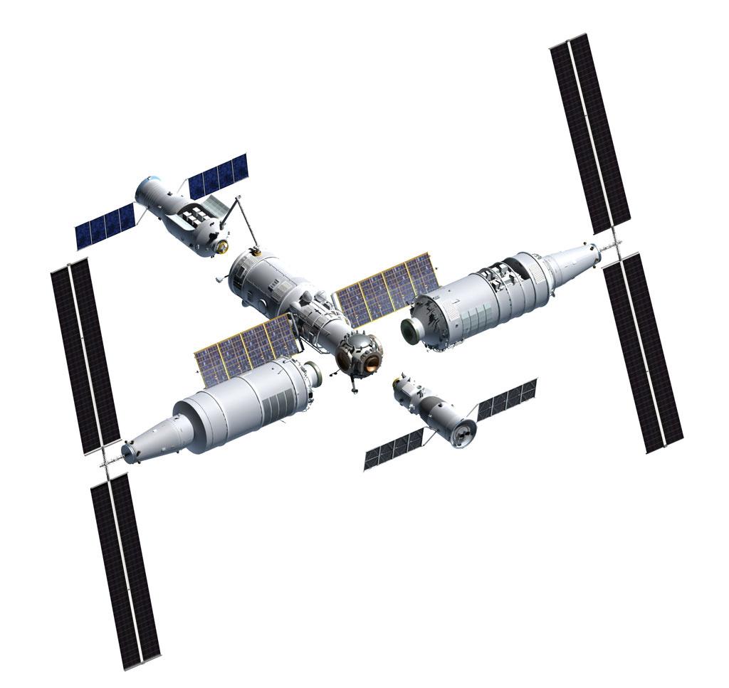 Китай приступил к установке своей космической станции на ракете-носителе для запуска на орбиту - 2