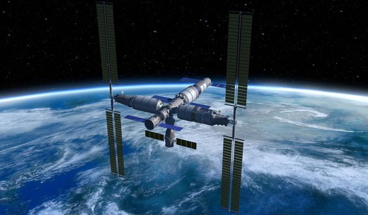 Китай приступил к установке своей космической станции на ракете-носителе для запуска на орбиту - 1