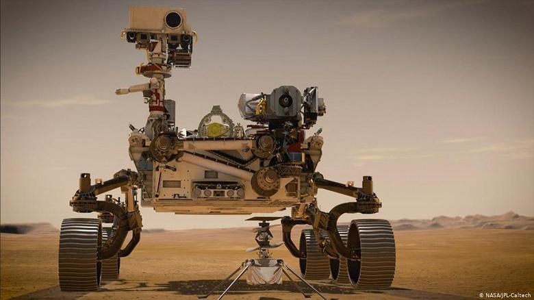 Настоящие звуки с Марса и видео посадки ровера Perseverance