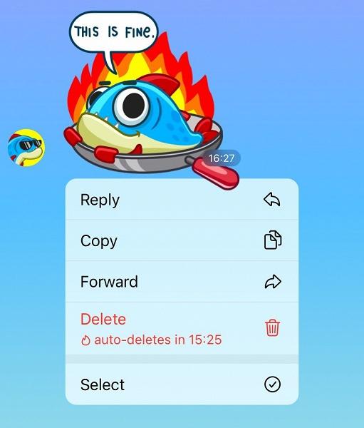 Большое обновление Telegram: долгожданные виджеты, автоудаление и многое другое