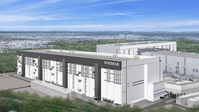 Kioxia начинает строительство самой большой фабрики по выпуску флэш-памяти
