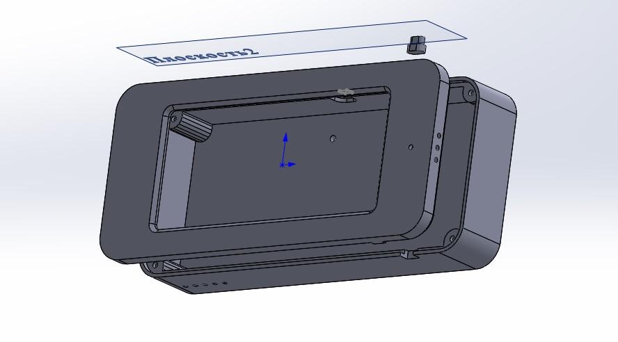 Беспроводная мини погодная станция с e-paper экраном на батарейках - 5