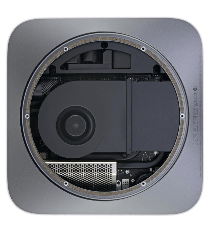 Mac Mini на M1: взгляд изнутри - 3