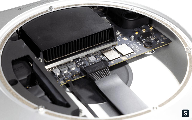 Mac Mini на M1: взгляд изнутри - 4