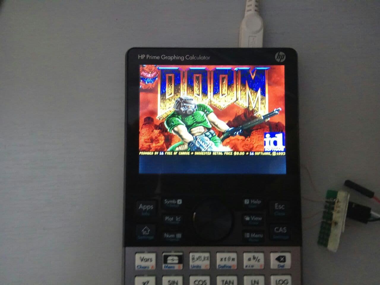 Запускаем DOOM на калькуляторе HP Prime G2 - 3