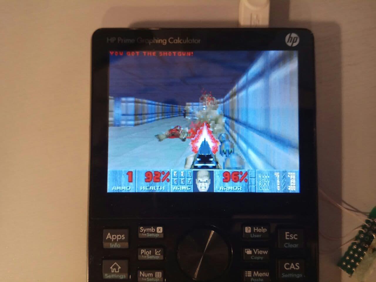 Запускаем DOOM на калькуляторе HP Prime G2 - 4