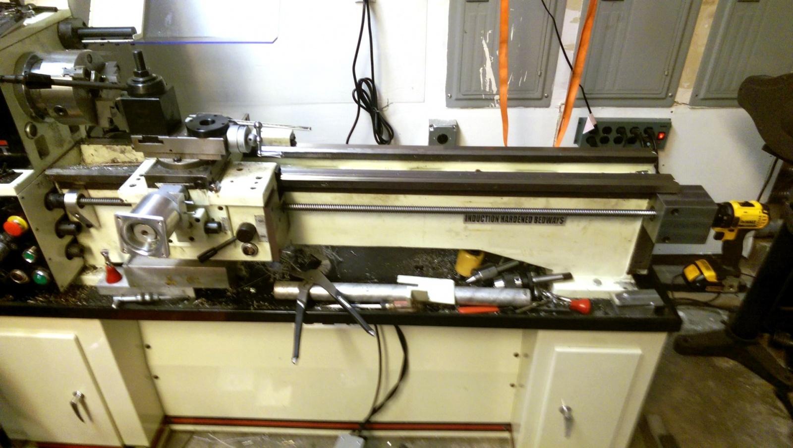 Модернизация токарного станка под работу с ЧПУ - 18