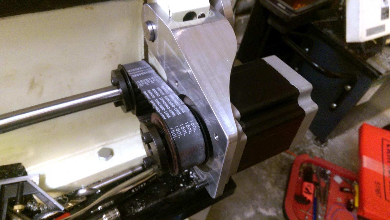 Модернизация токарного станка под работу с ЧПУ - 5