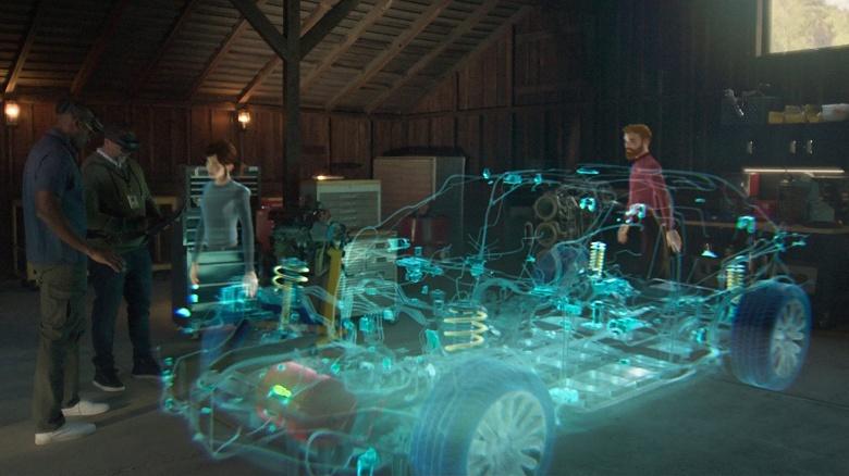 Как в фантастических фильмах: инновационный сервис Microsoft для общения и совместной работы