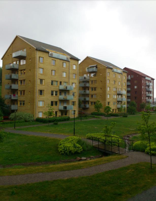 Внешний вид Frösunda - район, в котором нам больше всего понравилось жить