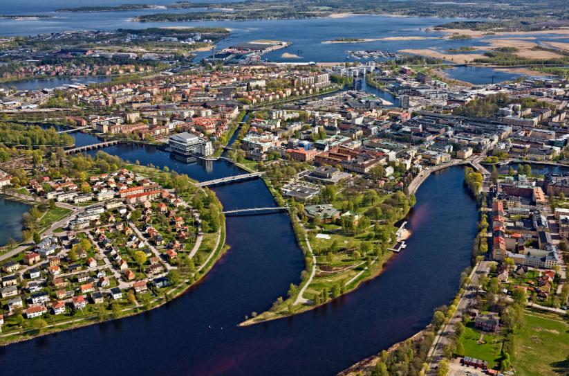 Остерсунд (север) - найдите 10 отличий от