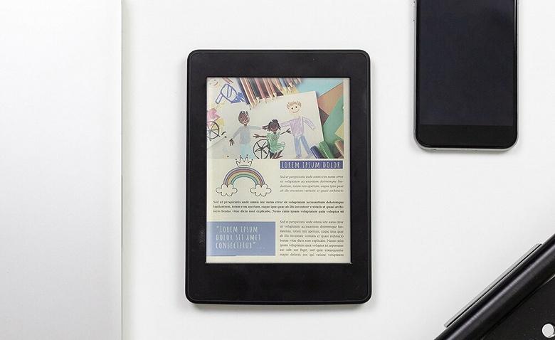 Экран E Ink Kaleido Plus отличается от предшественника более яркими цветами и большим размером