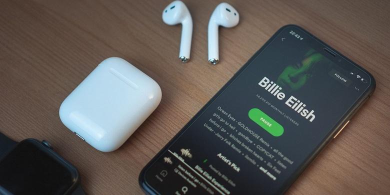 Мобильный Spotify начал работать на украинском