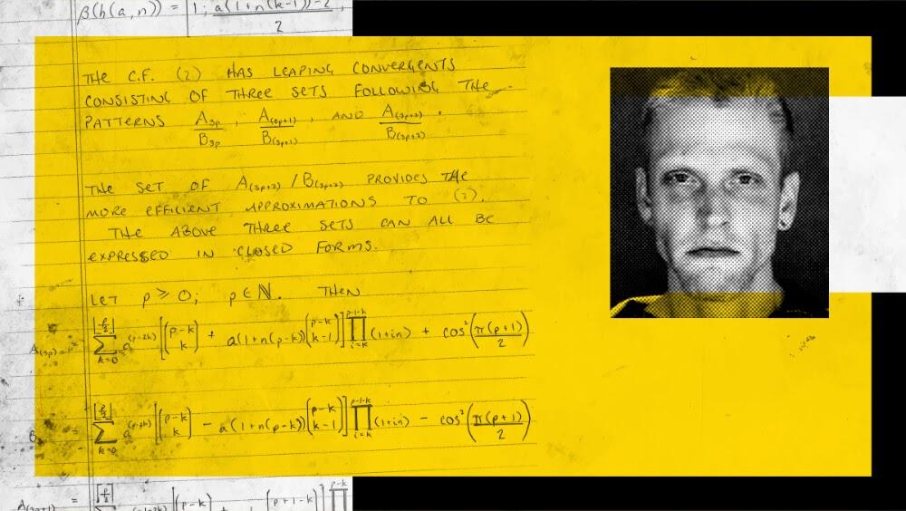 Заключённый использовал одиночную камеру для изучения математики. Сегодня он решает самые трудные уравнения в мире - 1