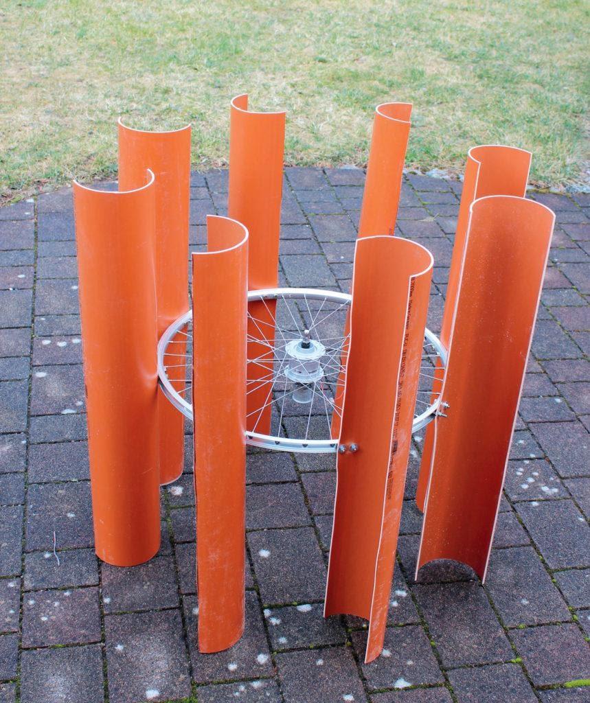 Ветрогенератор на заднем дворе - 4