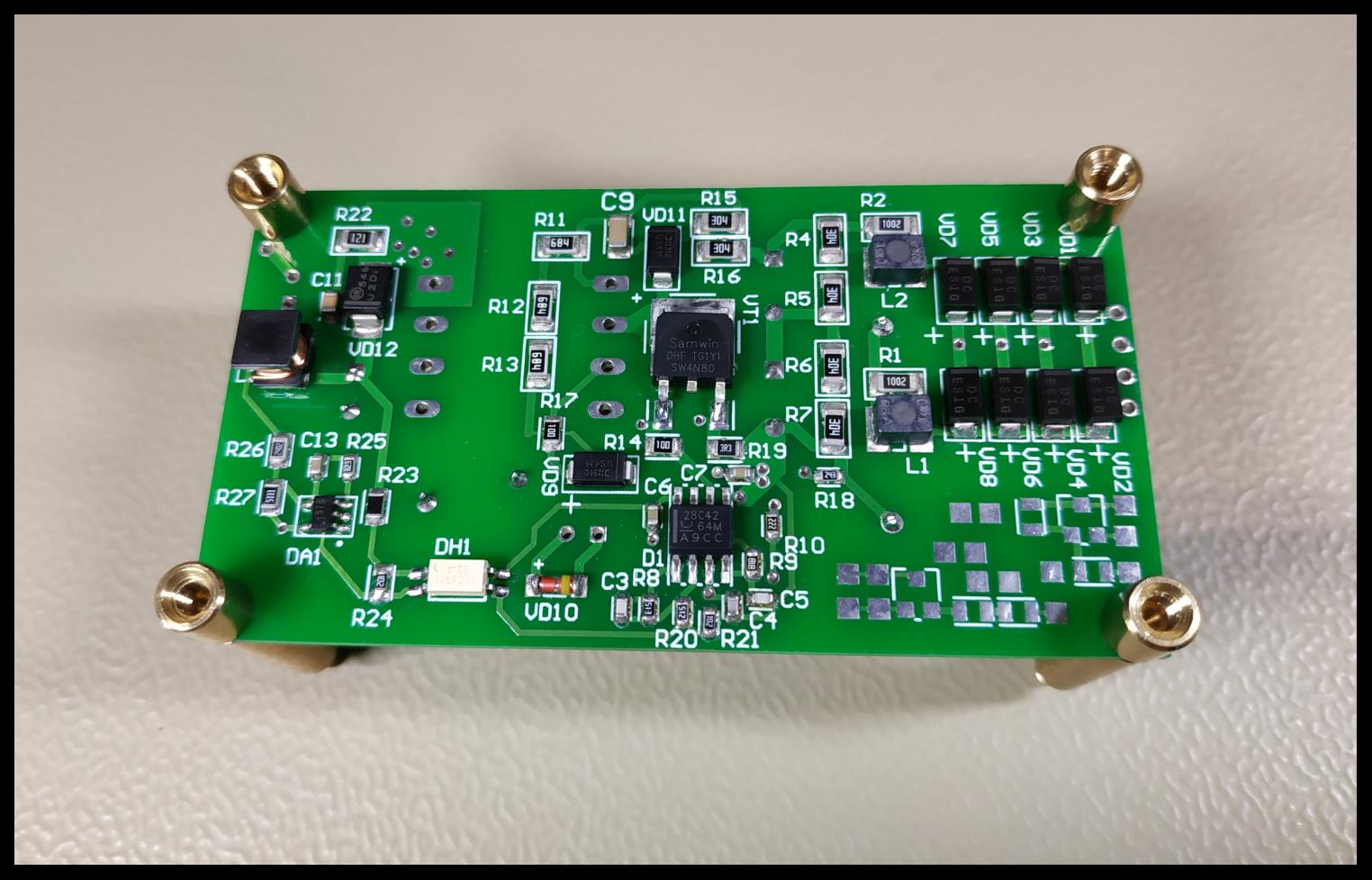 Разработка источника питания от трёхфазной сети 380В - 10