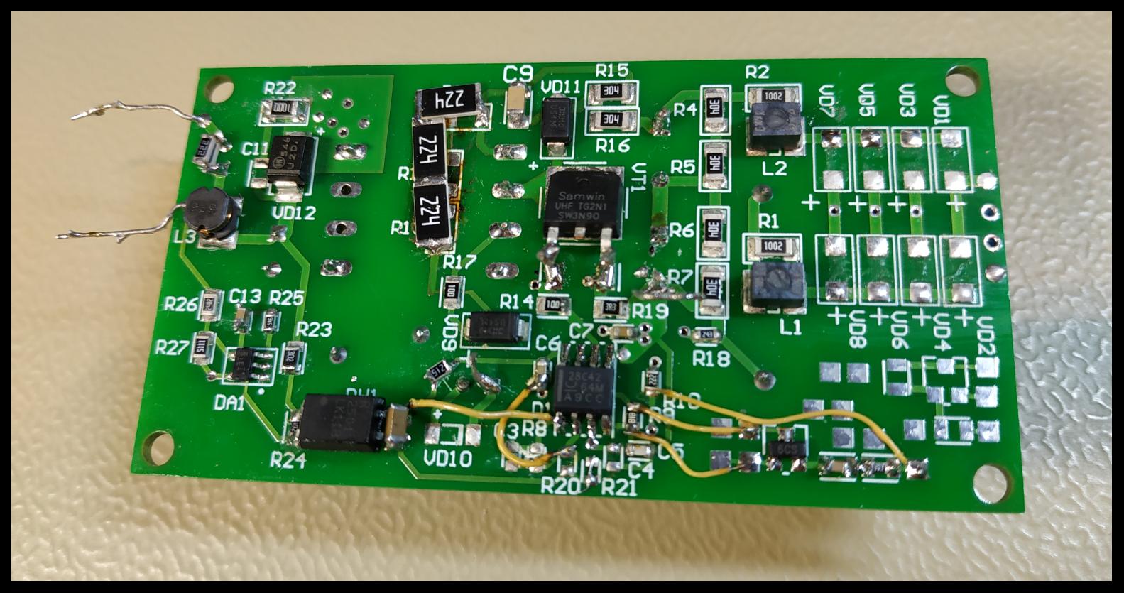 Разработка источника питания от трёхфазной сети 380В - 11