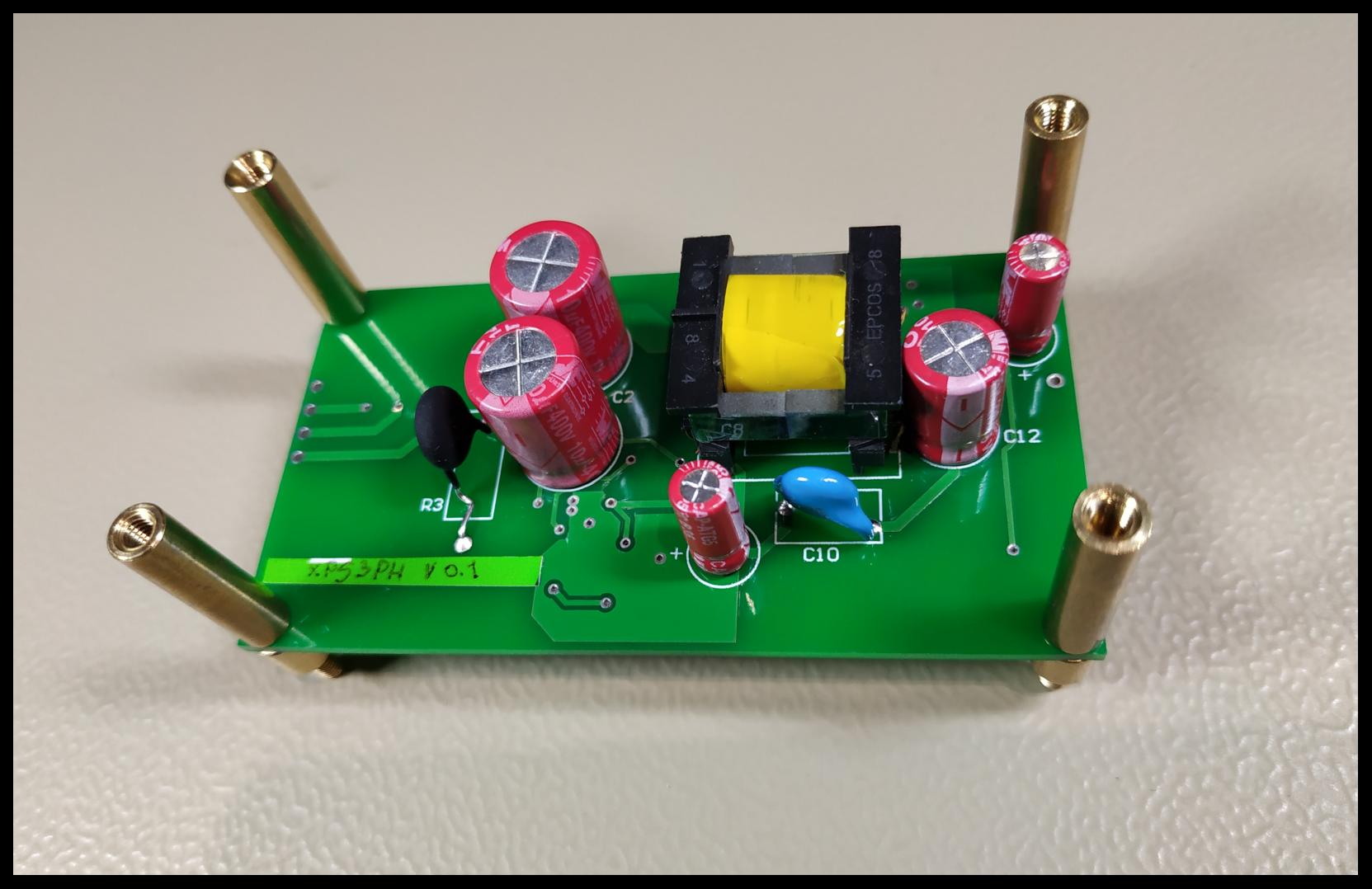 Разработка источника питания от трёхфазной сети 380В - 9