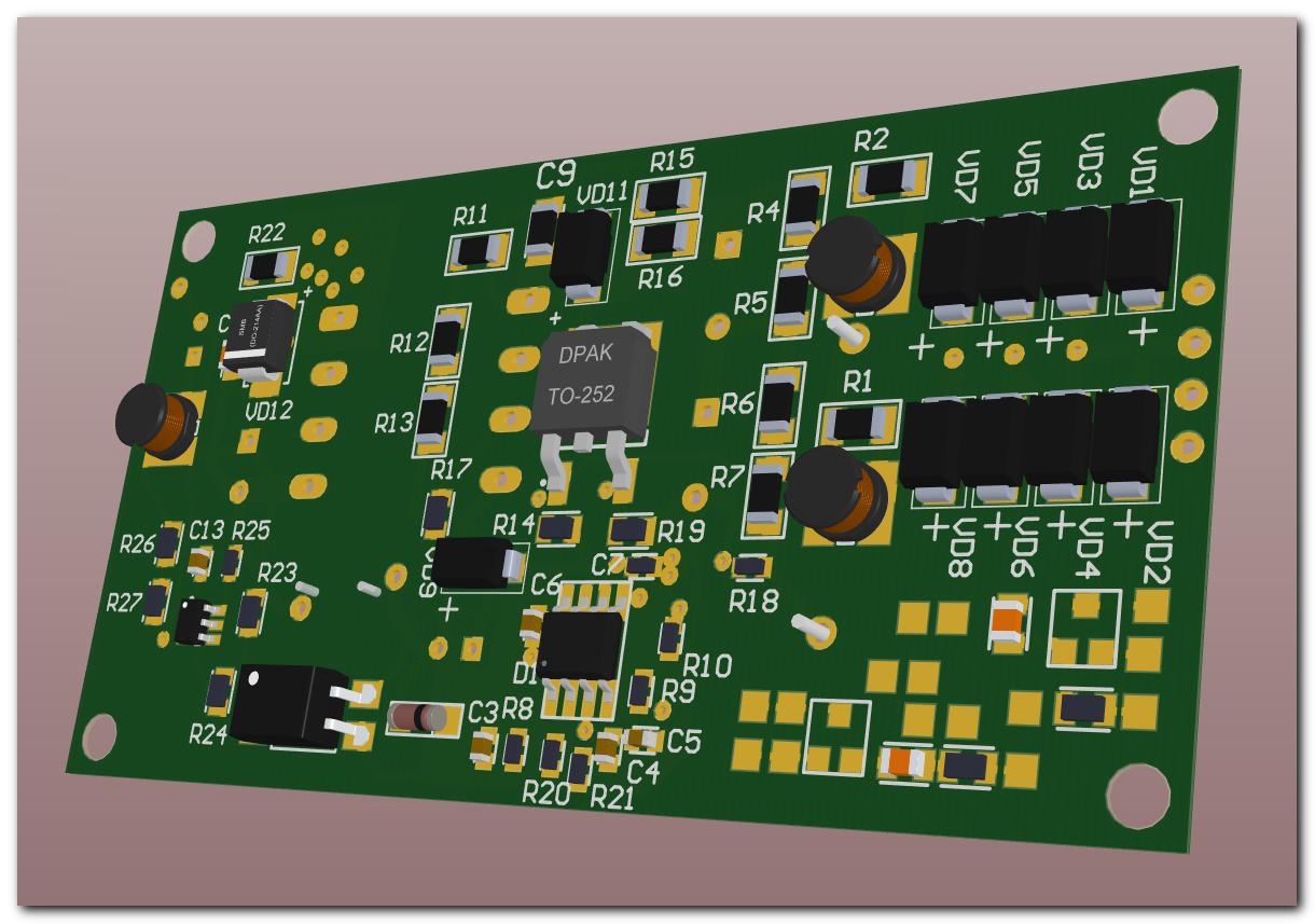 Разработка источника питания от трёхфазной сети 380В - 1