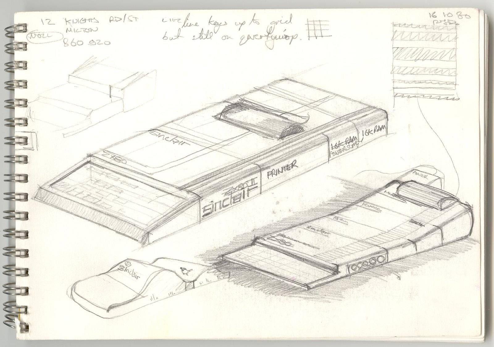 Стройный пластиковый корпус ZX81 за 40 лет ничуть не располнел - 1