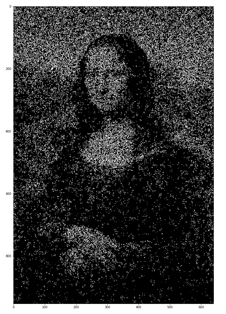 Создание образа Мона Лизы в Игре «Жизнь» - 1