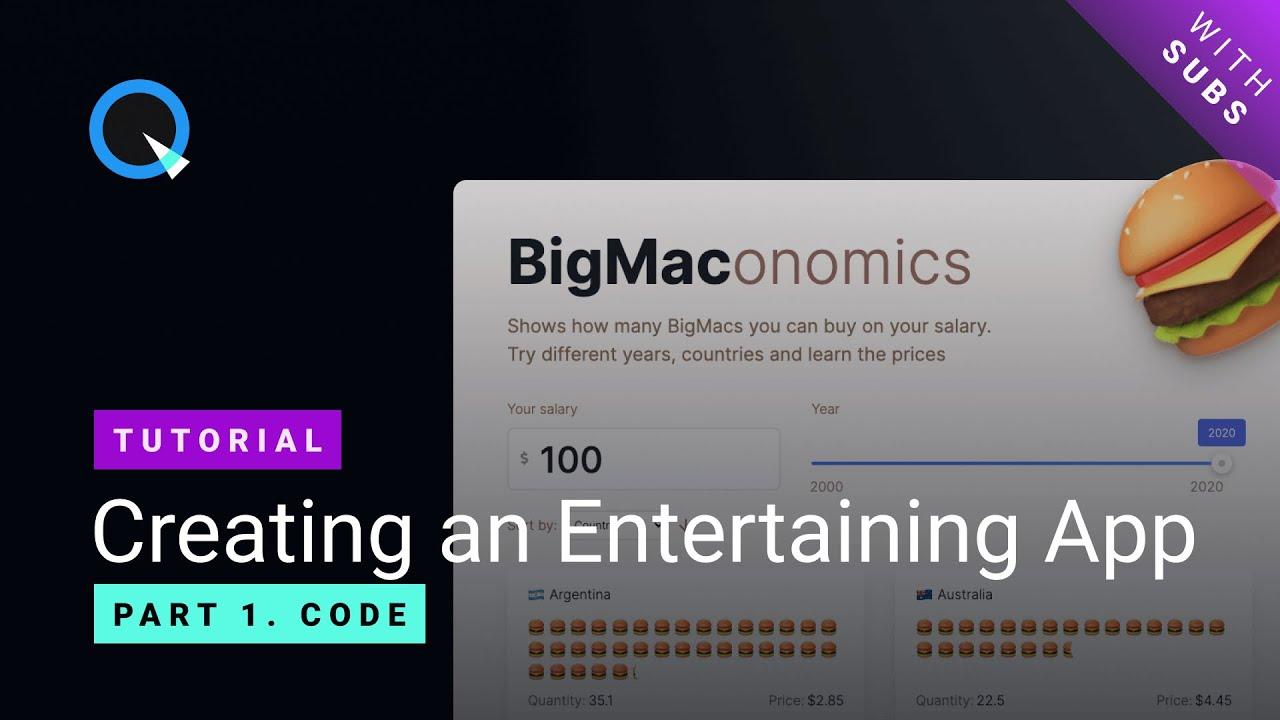 Делаем интерактивный Big Mac Index на React и Quarkly - 2
