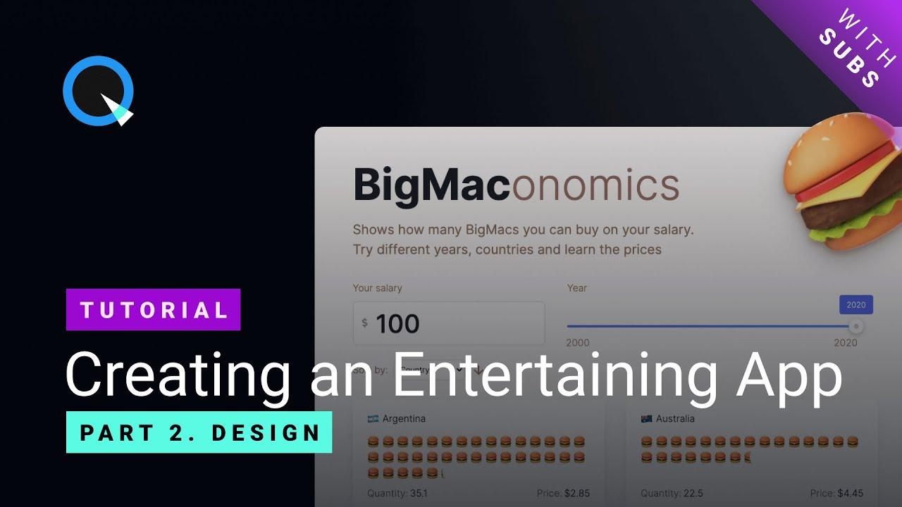 Делаем интерактивный Big Mac Index на React и Quarkly - 3