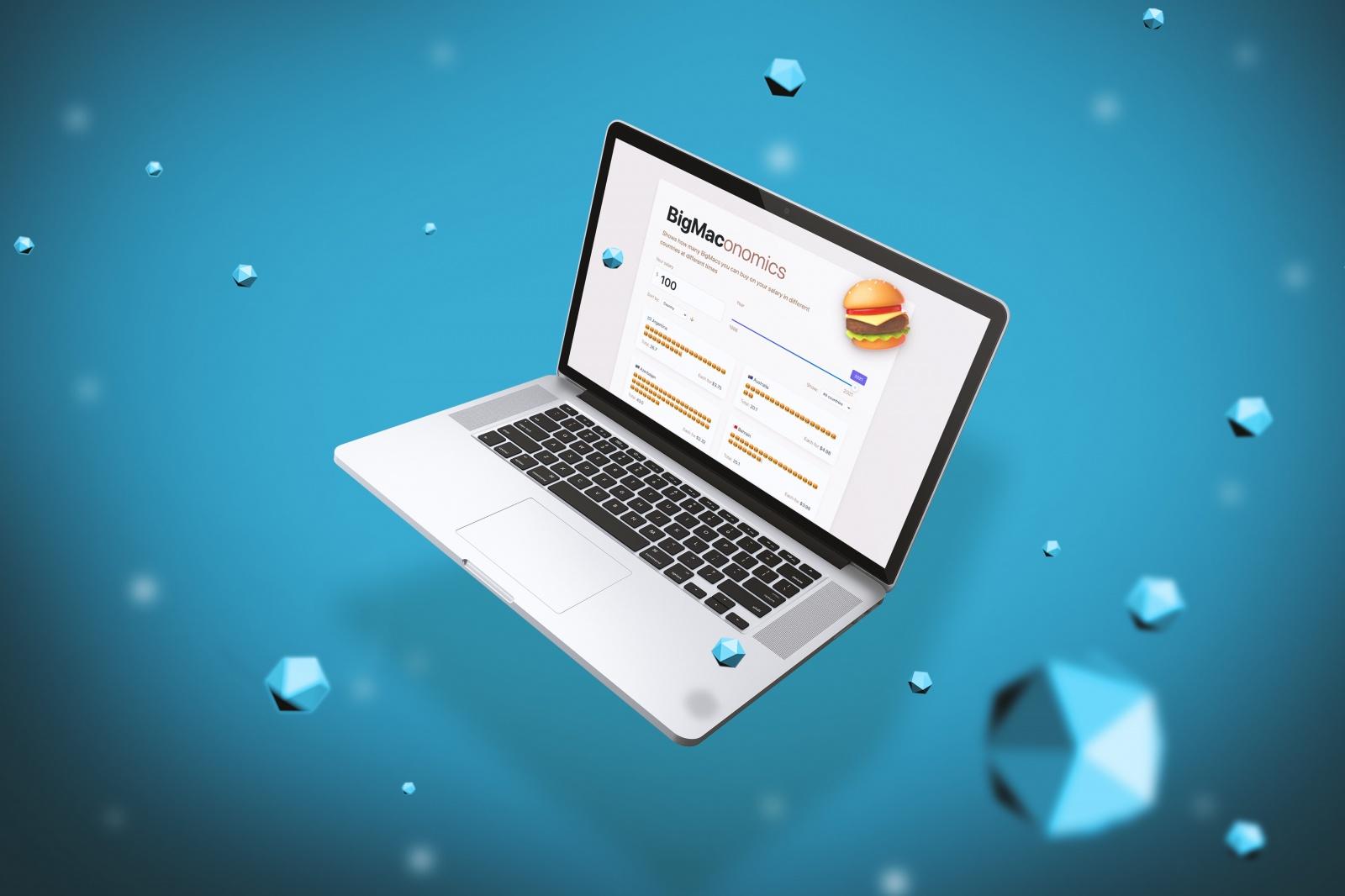 Делаем интерактивный Big Mac Index на React и Quarkly - 1