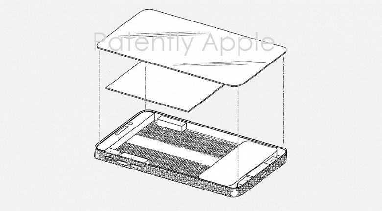 Дизайн тёрки для сыра может распространиться и на iPhone. Такой патент Apple уже имеет в своём активе