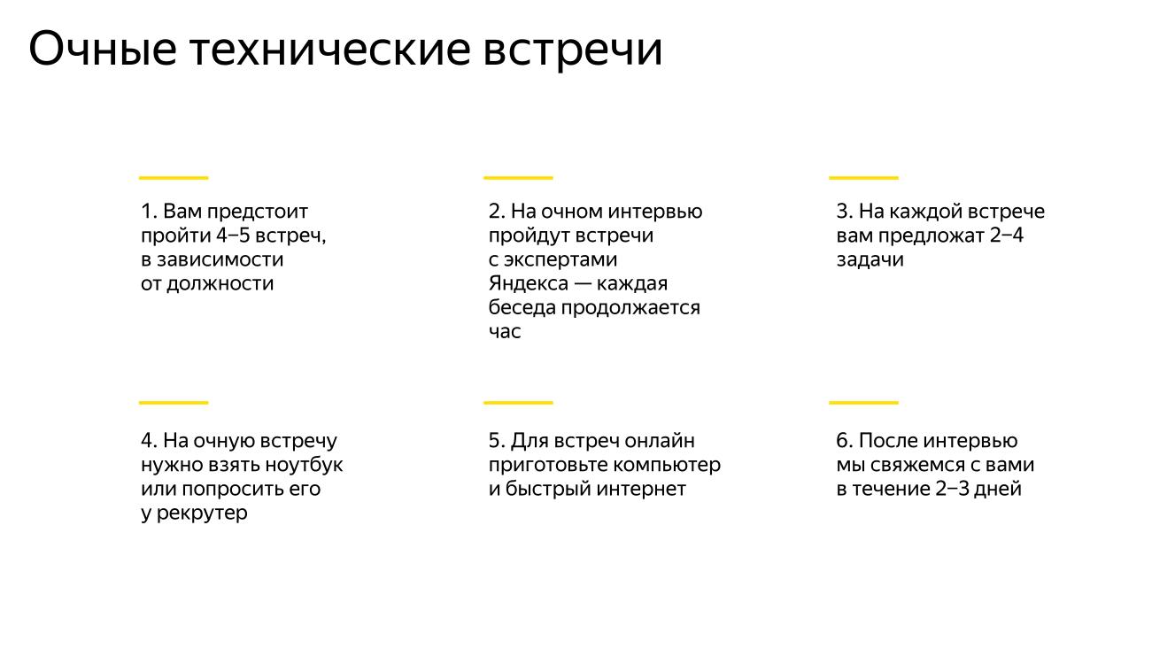 Собеседование в Яндекс: театр абсурда :- - 4