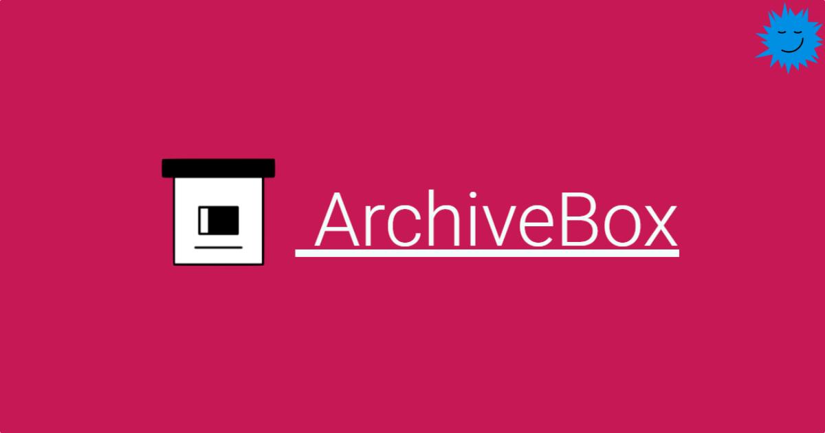Персональный интернет-архив без боли - 1