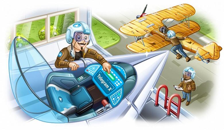 Состоялось первое обновление альтернативного Telegram X за год