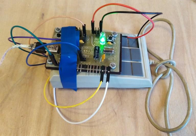 USB на регистрах: interrupt endpoint на примере HID - 1