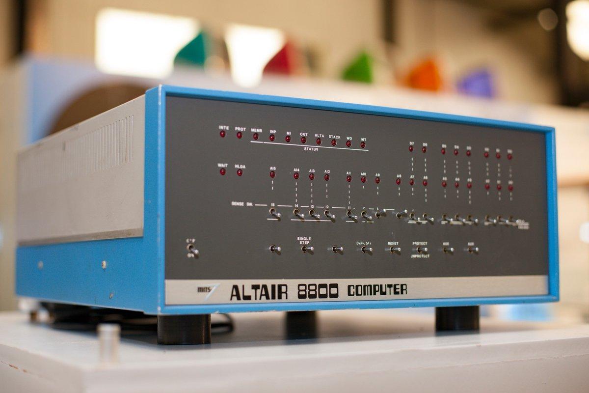 Altair 8800: короткий рассказ о великом компьютере - 1