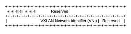 VXLAN Header (8 bytes)