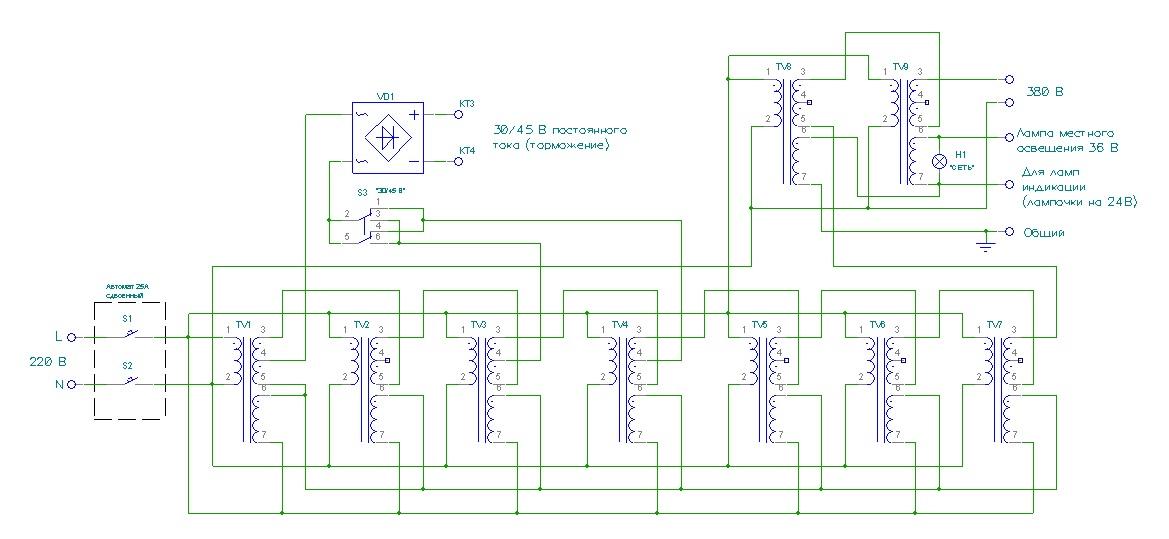Про запуск трехфазных двигателей, косинус φ и не только… - 8
