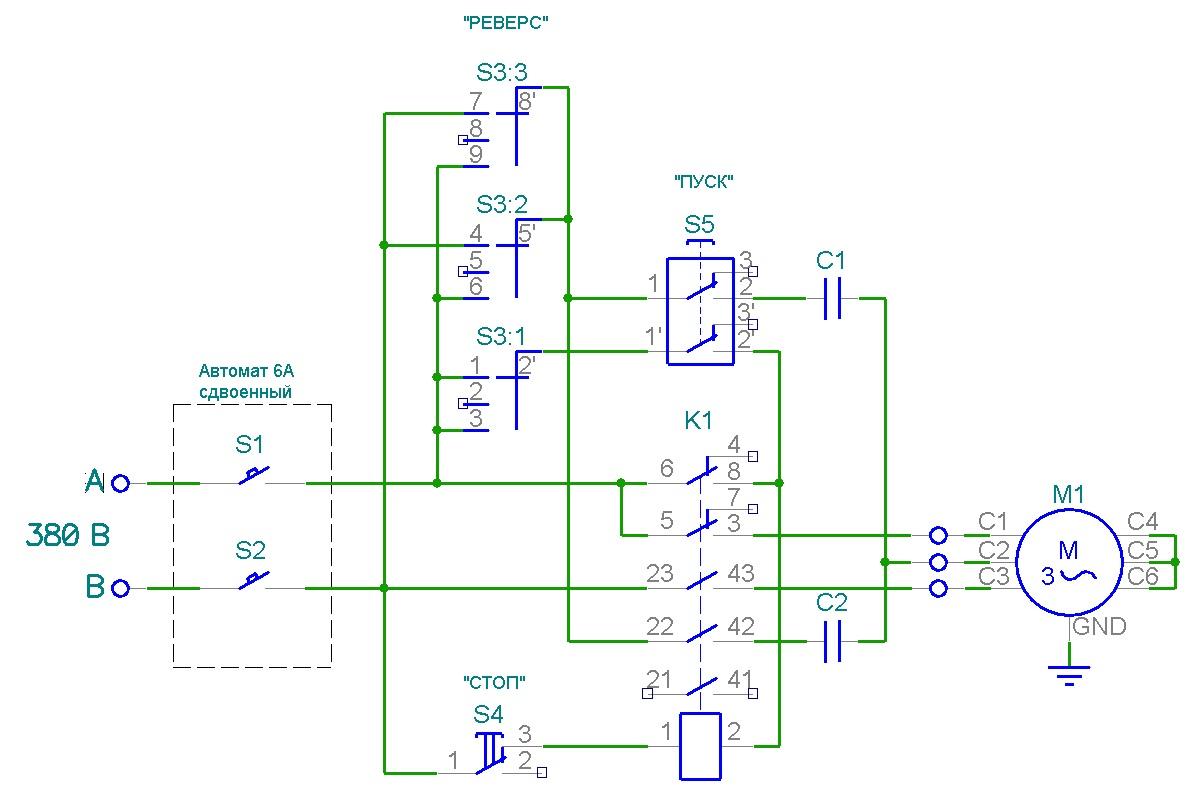 Про запуск трехфазных двигателей, косинус φ и не только… - 9